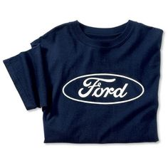 a442cf948172c 100% cotton screen printed tee with the bold Ford oval screened front and  center.