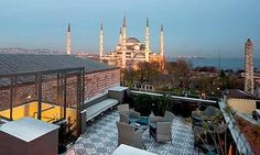 10 of the best boutique hotels in Istanbul.