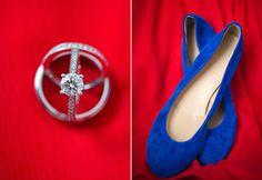 Annapolis USNA wedding, copyright Dyanna Joy Photography, blue wedding shoes