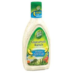 *** Amazing deals just a click away: Wish-Bone, Guacamole Ranch Dressing with Avocado, 16oz Bottle (Pack of 3) at Dinner Ingredients.