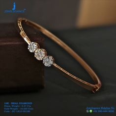 Shiny Circle Of Trust Add Shines To Your Personality. Get in touch with us on Shiny Circle Of Trust Add Shines To Your Personality. Get in touch with us on Gold Bracelet For Women, Gold Bangle Bracelet, Diamond Bracelets, Diamond Jewelry, Women's Bracelets, Bracelet Watch, Gold Bangles Design, Gold Jewellery Design, Piercing