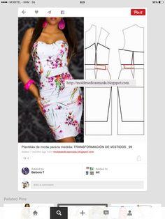 Heart neck line dress