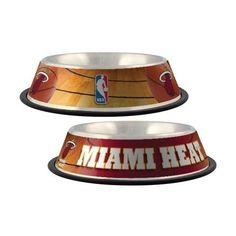 Miami Heat Dog Bowl#dogstuff#doglover#petstuff
