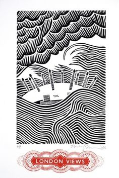 Stanley Donwood - Dome - Courtesy of TAG Fine Arts