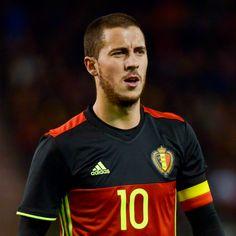 Les joueurs de football les plus canon - Eden Hazard - Euro 2016 - Diables Rouges - Belgique