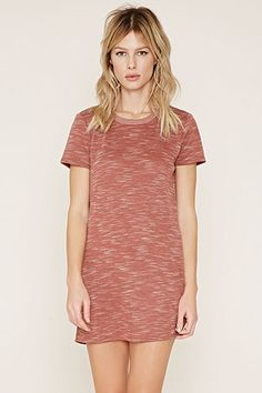 Space Dye T-Shirt Dress