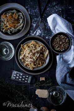 Rosemary Fettuccine with Butternut Squash and Burnt Butter