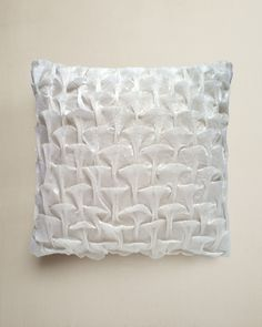 Design Trends 2013: Marine-Inspired - ELLE DECOR - Shell Smocked Cushion - Nitin Goyal