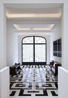 Encore Decor - Blog - As One Door Closes... #greek key #blackandwhite #design #zincdoor