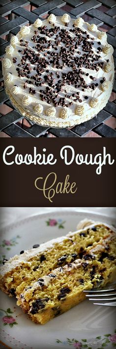 Cookie Dough Cake ,  Recipe Treasures