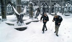Exclusive behind-the-scenes look at a real Hogwarts Christmas
