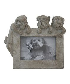 Playful Dogs Square Frame