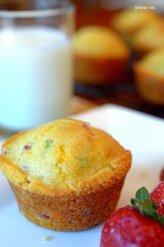 Platter Talk: Ham and Cheese Morning Muffins