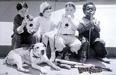 the little rascals (Petey was a PitBull)