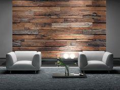 Znalezione obrazy dla zapytania ściana drewniana w salonie