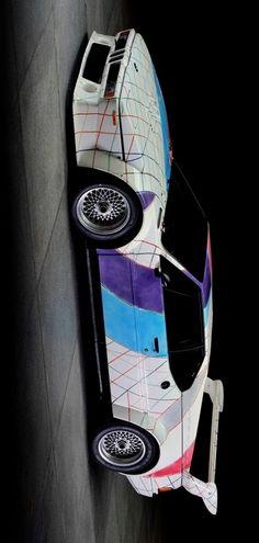 BMW M1 Procar Art Car by Frank Stella (E26) 1979