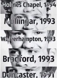 One direction-to those who dont know when and where they were born well here you go!