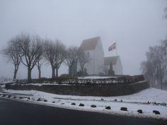 Winter in Vester Skerninge, Fyn, Denmark, 2012