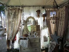 Use lace curtains