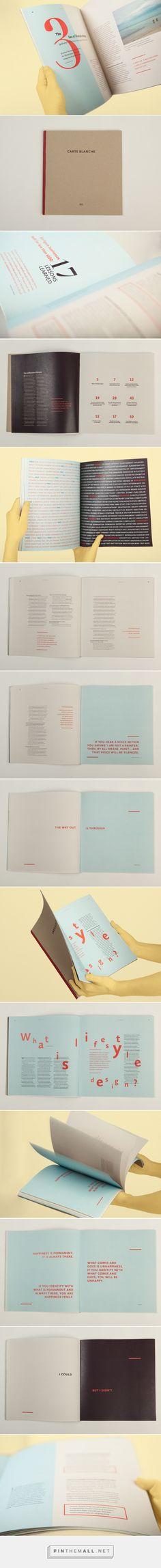 Carte Blanche – Magazine design