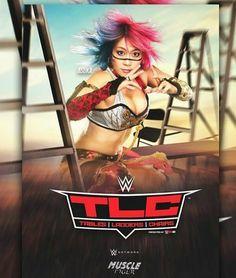 Asuka is back on the RAW TLC PPV cover October 2017 Minneapolis, Minnesota. Wrestling Superstars, Wrestling Divas, Women's Wrestling, Gorgeous Ladies Of Wrestling, Wwe Raw Women, Catch, Wwe Women's Division, Wwe Female Wrestlers, Brock Lesnar