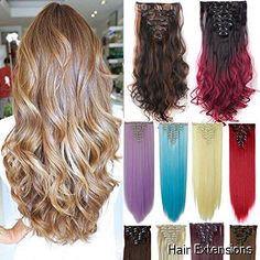 Hair Extensions - outstanding selection. Have to view...