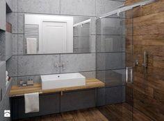 Zdjęcie: Łazienka beton architektoniczny - Łazienka - Styl Nowoczesny - Gotowe Wnętrza