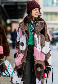 The 8 Best Street Style Looks We've Spotted In New York So Far via @WhoWhatWearUK