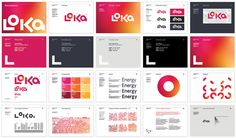 New Name, Logo, and Identity for Loka Energy by Believe In [CL: Individual page for every color]