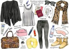 This week?s illustrated how-to gives you some tips on what to pack and what to wear when traveling by airplane.Hopefully this will help to keep you comfortable and stylish on your next trip. Have a good week!