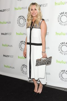 Kaley Cuoco arriving for 'The Big Gang Theory' presented by The Paley Center for Media's PaleyFest 2013 at the Saban Theatre in Beverly Hills, California - March 13, 2013 Photo: Runway Manhattan/ZUMA Press