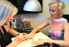 Music Video Shoot for Ready to Love Again, with Nail Artist, Ann at Voltage Nail Studio! http://www.robynsong.com