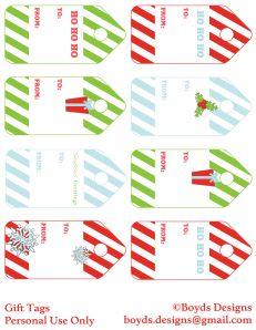 Christmas DIY Printable ... FREEBIES!