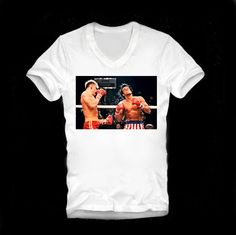 T SHIRT 80s Style Rocky Balboa Tee Mister T A by DesignRoomParis