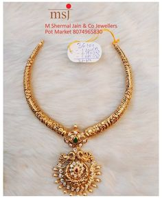 Gold Temple Jewellery, Gold Wedding Jewelry, Gold Jewelry Simple, South Indian Bride Jewellery, Copper Wire Jewelry, Wire Jewelry Making, Indian Jewelry, Antique Jewelry, Jewelry Design Earrings