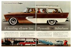 1956 Plymouth station wagon