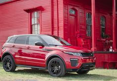 #RangeRover Evoque : Red is not just for #Ferrari