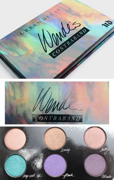 "Wonder if this is new? Reminds me of ""Orange is The New Black"" vocab lol. Urban Decay Wende's Contraband Palette"