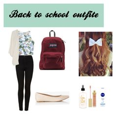 """""""Back to school outfite idea"""" by raniaaaa on Polyvore"""