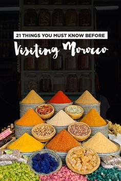 Morocco Travel Tips: 21 Things You Must Know Before Visiting Morocco // localadventurer.com