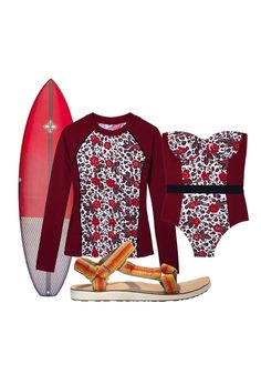 The perfect outfit for a weekend of paddle boarding.
