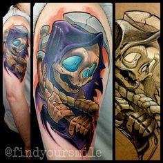 19 Best New School Skull Tattoo Designs Drawings Images Design
