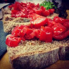 classica bruschetta antipasto italia