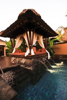 I want Pool cabana