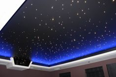 Home Cinema Room, Home Theater Rooms, Home Theater Design, Projector In Bedroom, Ceiling Projector, Star Lights On Ceiling, Home Ceiling, Ceiling Stars, Ceiling Lamps