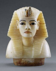 King Tut - beautiful little sculpture in alabaster