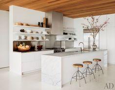Palm Beach Kitchen designed by David Piscuskas | Photo by Nikolas Koenig via Architectural Digest