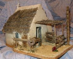 1 million+ Stunning Free Images to Use Anywhere Nativity House, Christmas Nativity Scene, Miniature Crafts, Miniature Houses, Small Wooden House, Home Tech, Free To Use Images, Winter Painting, Fairy Garden Houses