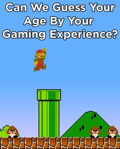 Can we guess your age based on your video game preferences video