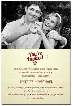 Cherish Wedding Favor Donation Card 104 via Etsy love
